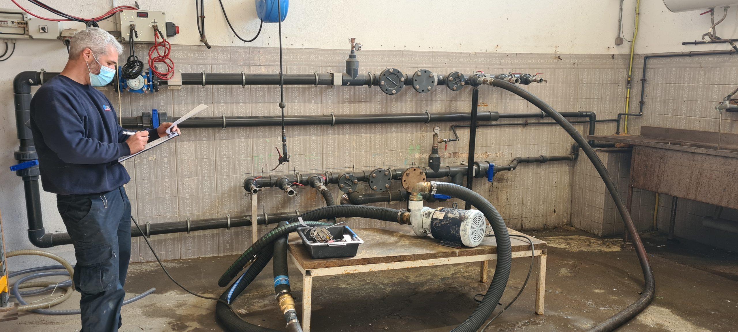 Maintenance : Service des pompes